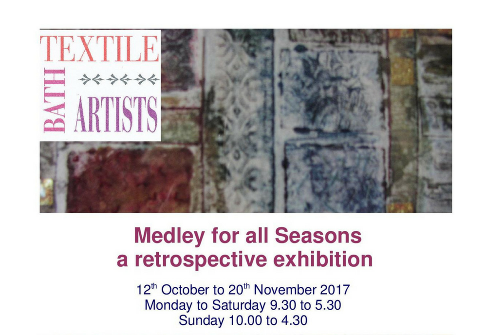 Bath Textile Artists exhibit at the Red Brick Building – A Medley