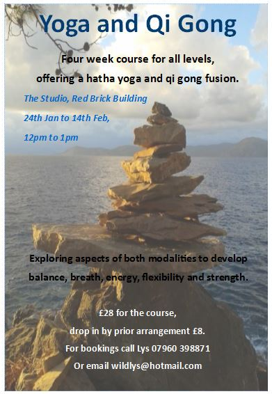 Yoga and Qi Gong with Lys Wild – The Red Brick Building